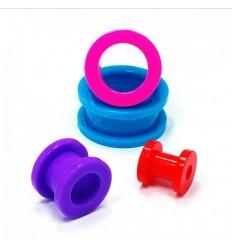 Tunel do ucha NEON - fialový