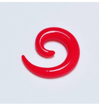 Roztahovák spirála - červený