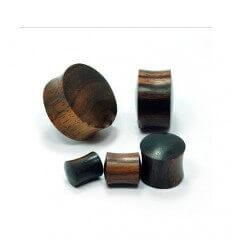 Dřevěný plug do ucha