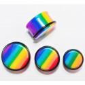 Ear plug - rainbow