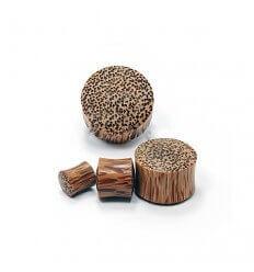 Dřevěný plug - kokosové dřevo