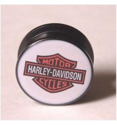 Akrylátový plug do ucha – HARLEY DAVIDSON