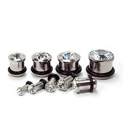 Plug diamant - cirirgická ocel 316L
