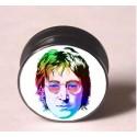 Akrylátový plug do ucha – JOHN LENNON