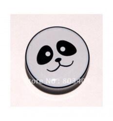 Akrylátový plug do ucha – PANDA