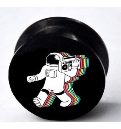 PLUG DO UCHA – RETRO KOSMONAUT