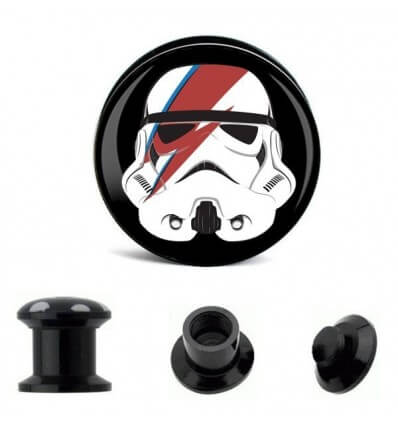 PLUG DO UCHA - STAR WARS - STORMTROOPER